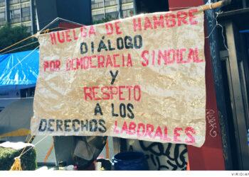 México. Extrabajadores de Pemex superan los cien días en huelga de hambre