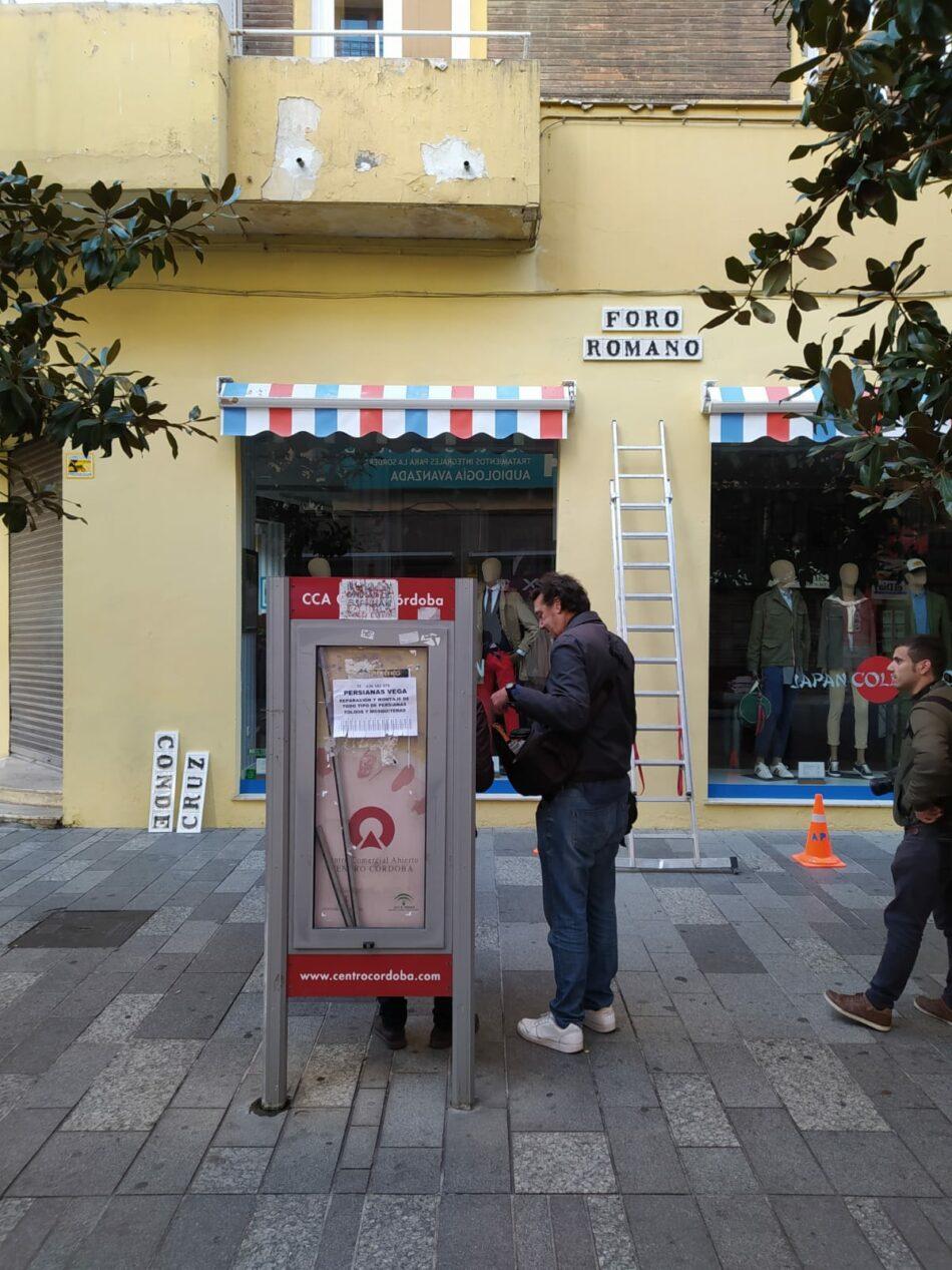 Córdoba recupera dos calles con nomenclatura franquista, Cruz Conde y Vallellano, tras decisión del Ayuntamiento en manos de PP-Cs