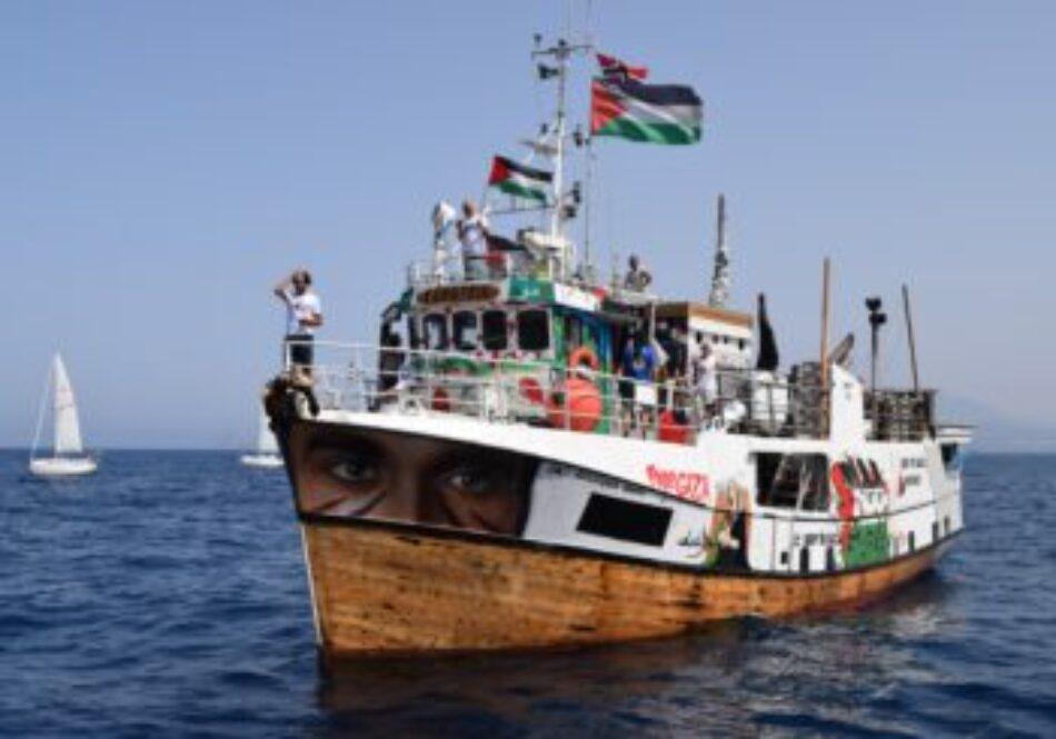 La Flotilla de la Libertad se hará a la mar contra el bloqueo de Gaza más tarde de lo planeado