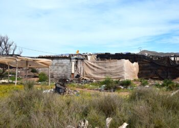 Los asentamientos chabolistas de la provincia de Almería carecen de agua corriente