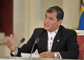 Rafael Correa: «El juicio en mi contra es una farsa, buscan condenarme antes de las elecciones de 2021»
