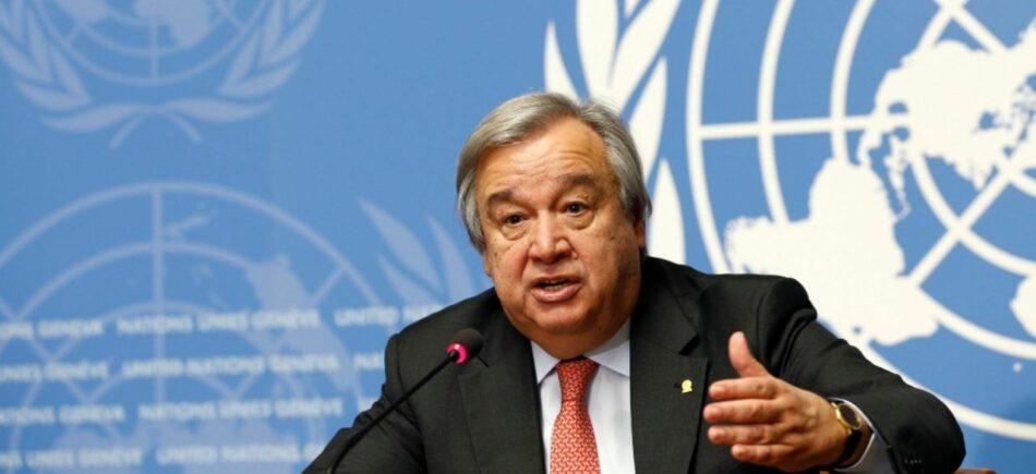Secretario General de la ONU insiste en que se levanten sanciones que socavan capacidad de respuesta de países frente al Covid-19