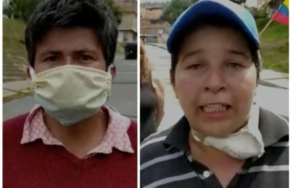 Colombia. «Me voy a robar o qué, señor presidente»: la desesperación de las madres contra Duque