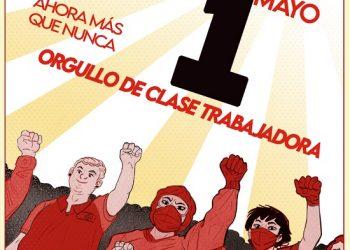 CNT: «1 de Mayo: Ahora más que nunca, orgullo de clase trabajadora»