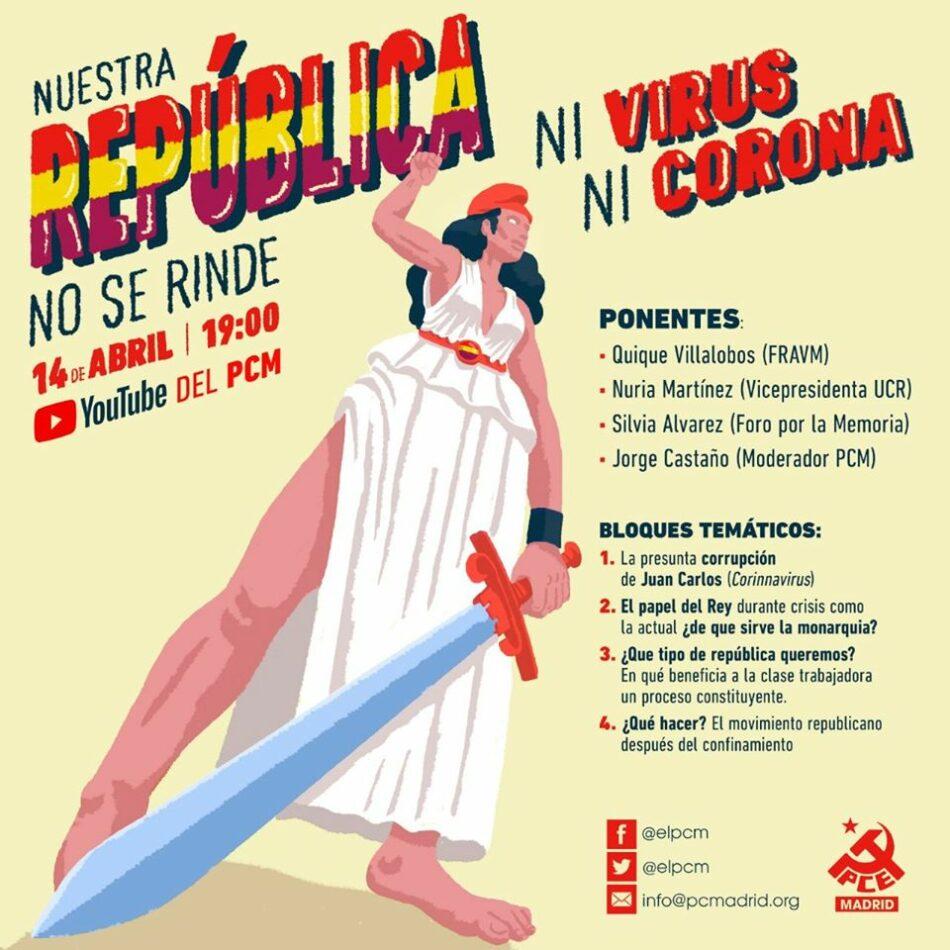 «Nuestra República no se rinde. Ni virus ni corona»