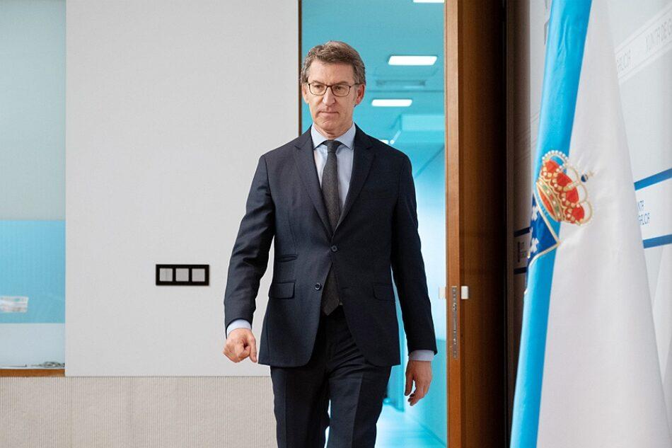 Crisis del coronavirus: Alberto Núñez Feijóo no da la cara en el Parlamento de Galicia mientras utiliza a diario la televisión pública como medio de propaganda electoral