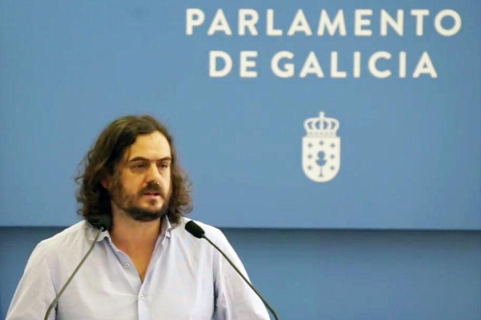 Antón Sánchez leva ao Parlamento de Galicia á volta á xestión pública das residencias privatizadas por Feijóo