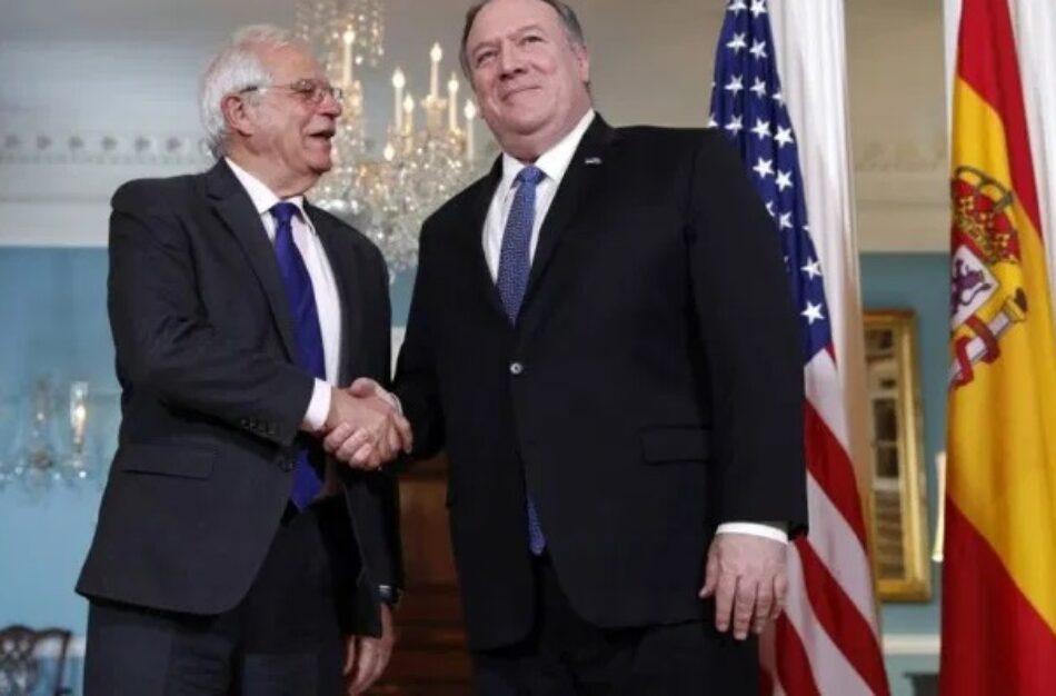 El FAI denuncia el apoyo de la UE a los planes injerencistas de EEUU contra Venezuela