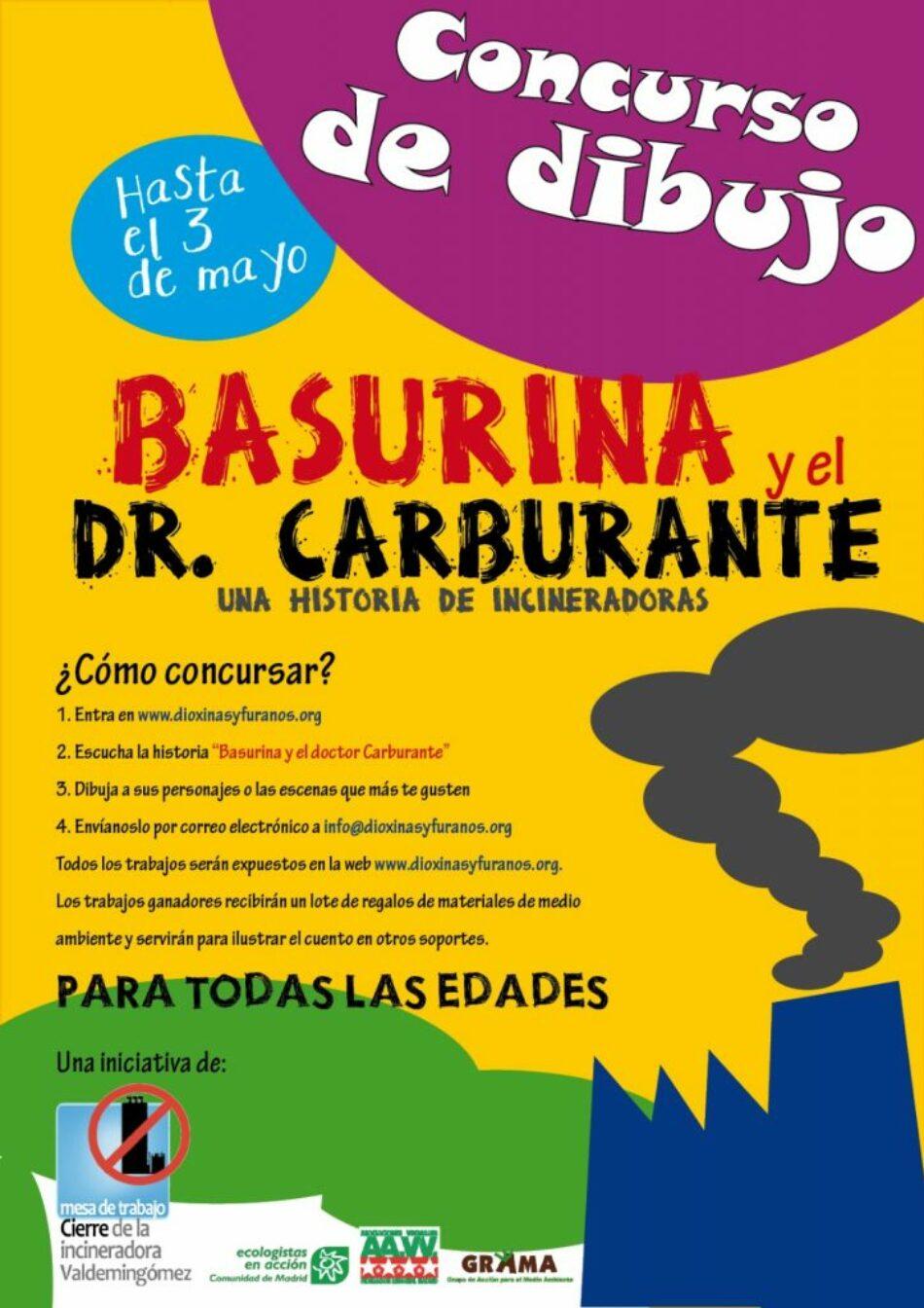 ¿Te atreves a dibujar a los personajes del audiocuento Basurina y el Doctor Carburante?