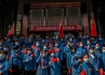 China reporta que ninguna persona murió por Covid-19 en las últimas 24 horas