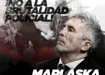 La Coordinadora 25S denuncia la brutalidad policial durante la crisis sanitaria, y pide la derogación de la Ley Mordaza y la dimisión de Marlaska