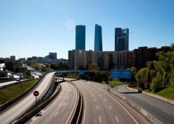 La contaminación del aire urbano en Madrid cae un 56 % durante la segunda quincena del mes de marzo
