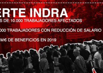 Compromís muestra su rechazo al ERTE de Indra que podría afectar a 10000 personas en todo el Estado y pide medidas al Gobierno