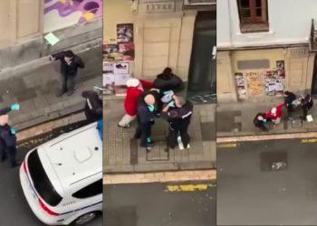 Denuncian represión y brutalidad policial en el barrio de San Francisco (Bizkaia)