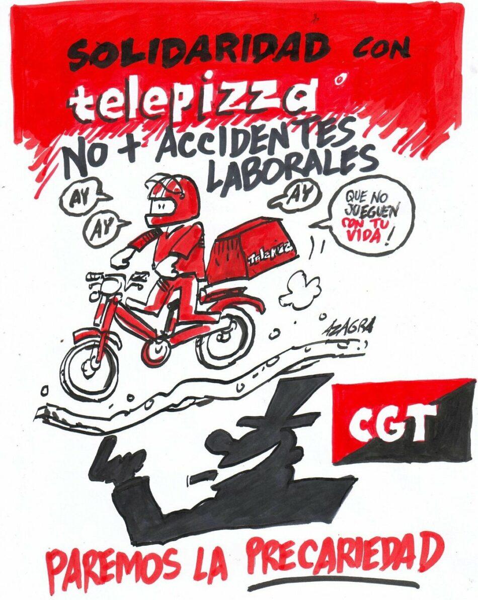 «La clase empresarial es en sí misma un factor de riesgo laboral, Telepizza, un claro ejemplo»