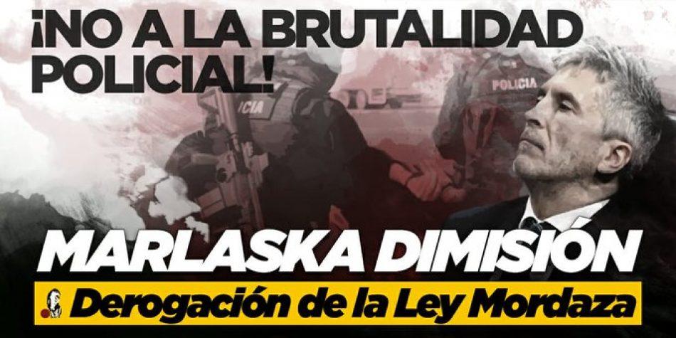 La Coordinadora 25S ante la prohibición de la protesta contra la brutalidad policial