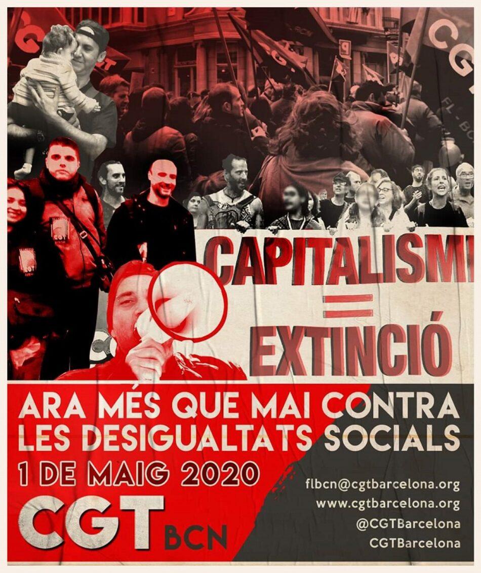 1 de mayo 2020: ahora más que nunca, contra las desigualdades sociales