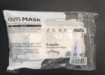 Detectadas dos nuevas mascarillas 'fake' que podrían haber sido distribuidas en Madrid