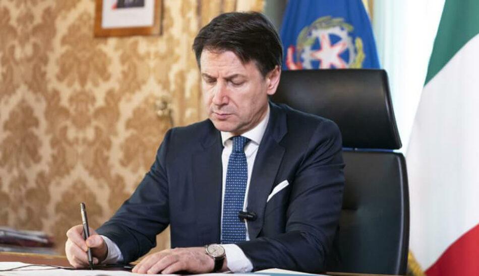 Italia extiende el confinamiento hasta el 3 de mayo