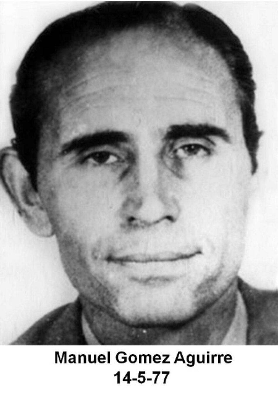 Manuel Gómez Aguirre, sindicalista gallego víctima del genocidio argentino