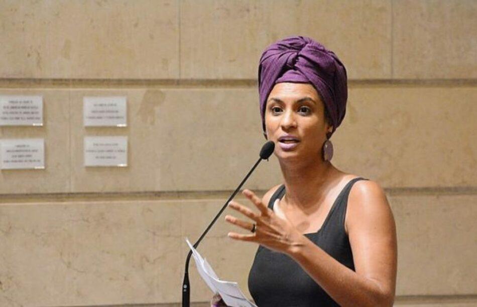 «Bolsonaro no tiene compromiso con la humanidad», responde la madre de Marielle Franco