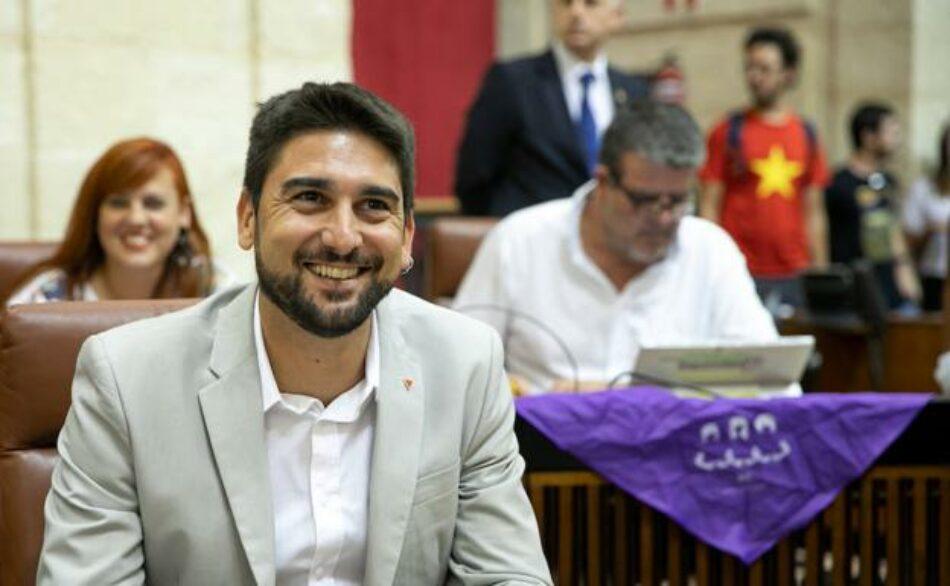 Adelante afea que de los 94 millones anunciados por el Gobierno de Moreno Bonilla no haya ni un euro de presupuesto propio de la Junta para Sevilla