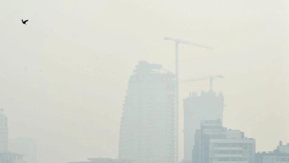 La alcaldía de Kiev pide a todos mantener cerradas las ventanas por el humo de los incendios de Chernobyl