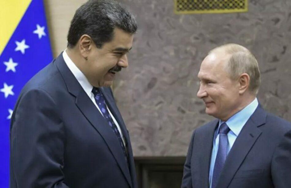 Maduro y Putin coordinan esfuerzos para atender pandemia por Covid-19