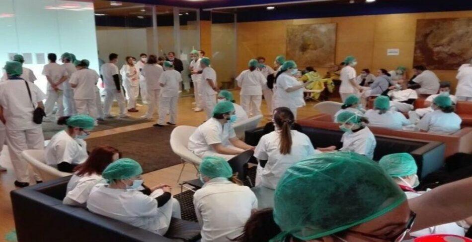 Los médicos hablan de sus condiciones de trabajo