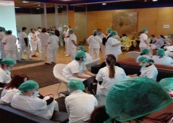 Médicos de la Comunidad Autónoma de Madrid hablan de sus condiciones de trabajo