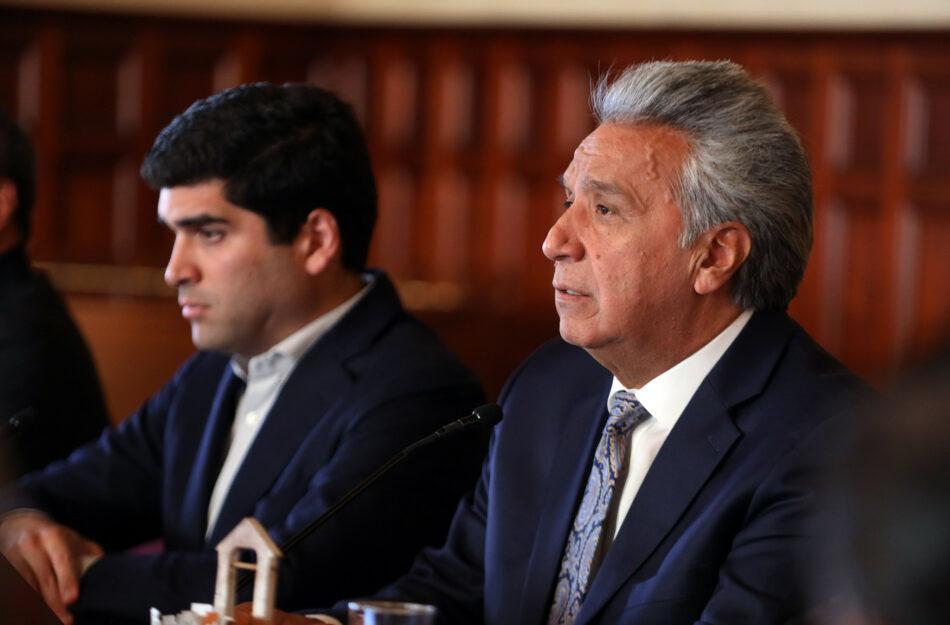 """IU denuncia la """"persecución judicial y política"""" contra Rafael Correa en Ecuador y advierte de que Lenin Moreno usa la última sentencia como """"cortina de humo frente al Covid-19"""""""
