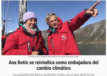 Organizaciones instan al Banco Santander a desvincularse de los combustibles fósiles
