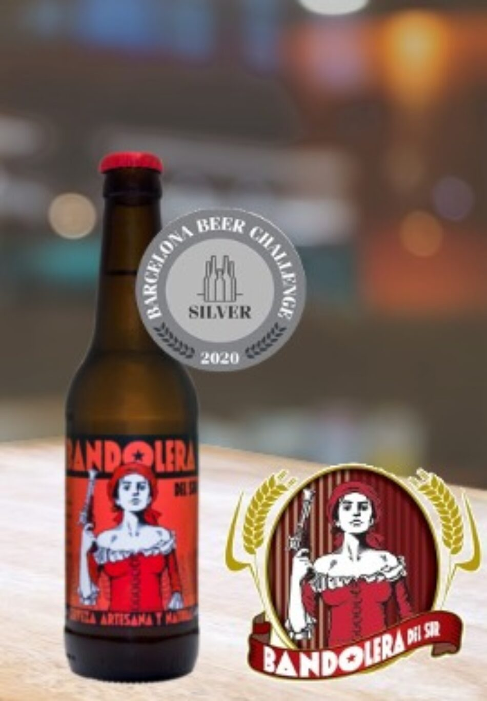 Cervezas Bandolera premiada en el Barcelona Beer Chalenger 2020