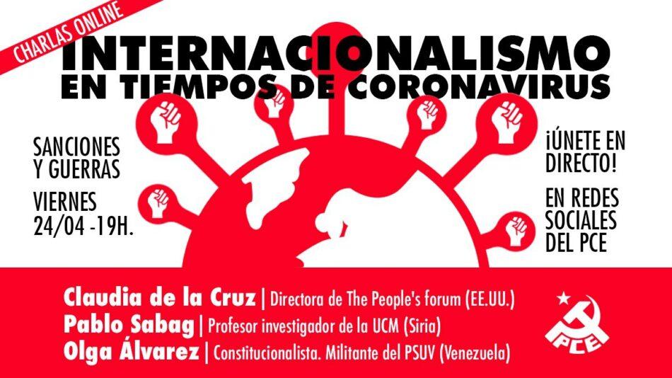 Ciclo de charlas online: Internacionalismo en tiempos de coronavirus