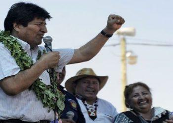 Evo Morales denuncia acciones del Gobierno de facto contra empresas