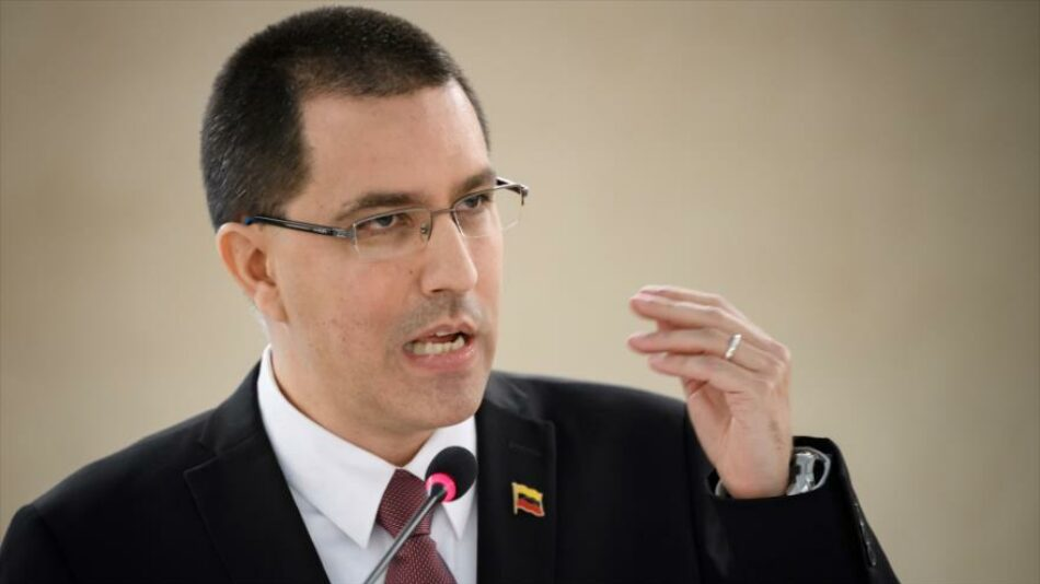 Arreaza carga contra EEUU por perseguir buques con crudo venezolano