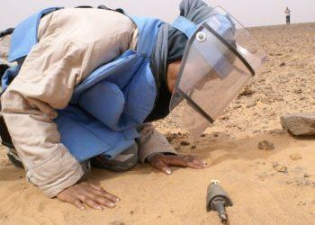 Sáhara Occidental: Mujeres jóvenes desminadoras arriesgan sus vidas para limpiar de minas y explosivos el territorio saharaui liberado