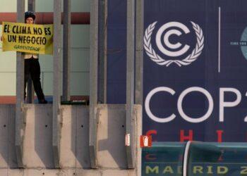 Greenpeace exige que el traslado de la COP a 2021 no implique la inacción ante la emergencia climática, más urgente que nunca