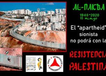 15 de Mayo: Palestina lleva 72 años en lucha contra la Nakba