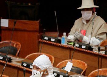 El Parlamento boliviano decreta la celebración de elecciones en 90 días con la oposición de Añez