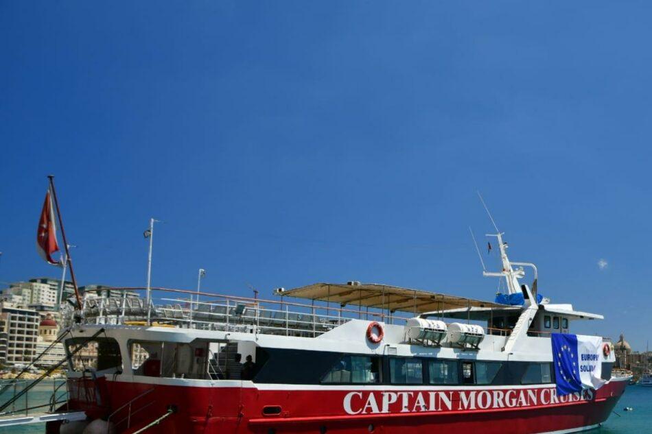 ACNUR y la OIM urgen a la UE a desembarcar a los refugiados del Captain Morgan