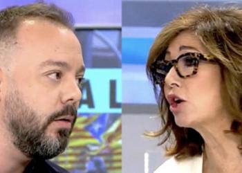 Ana Rosa Quintana despide a Antonio Maestre por su posición crítica con Díaz Ayuso