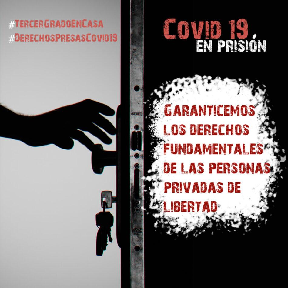 Organizaciones sociales solicitan al Ministerio del Interior un plan de desescalada en prisión que garantice el cumplimiento de los derechos humanos