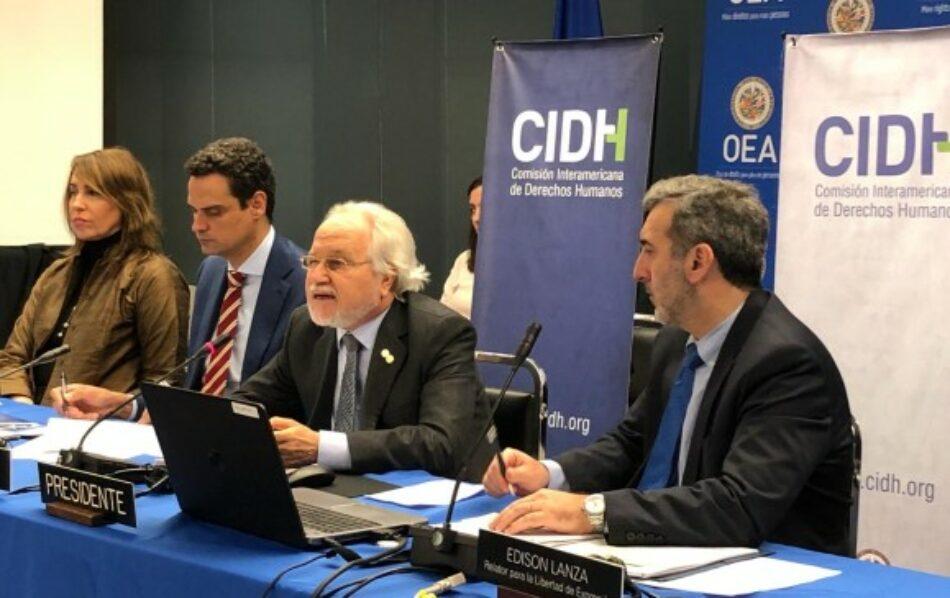 La CIDH exhorta al Estado de Colombia a establecer una investigación sobre espionaje ilegal