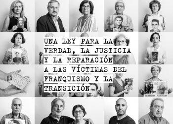 """IU muestra su """"compromiso"""" para dar el """"impulso definitivo"""" a la Proposición de Ley Integral de Memoria Democrática y de Reconocimiento y Reparación a las Víctimas del Franquismo"""