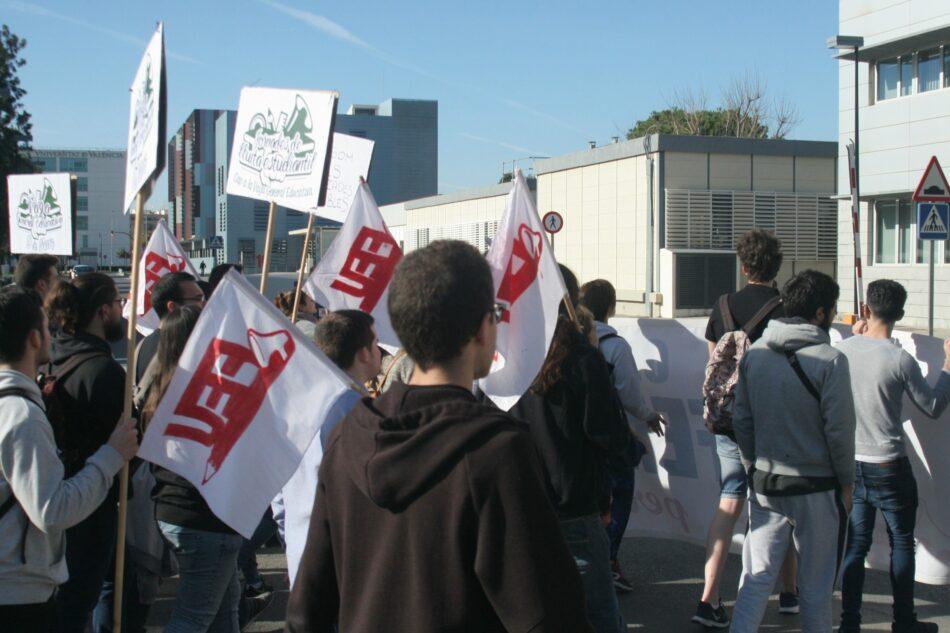 Estudiantes valencianos hacen un «escrache virtual» a universidades y responsables institucionales ante la falta de medidas por el COVID-19