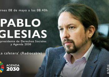 Pablo Iglesias defiende en «La Cafetera» una Renta Mínima Europea como respuesta unitaria y coordinada a la pandemia