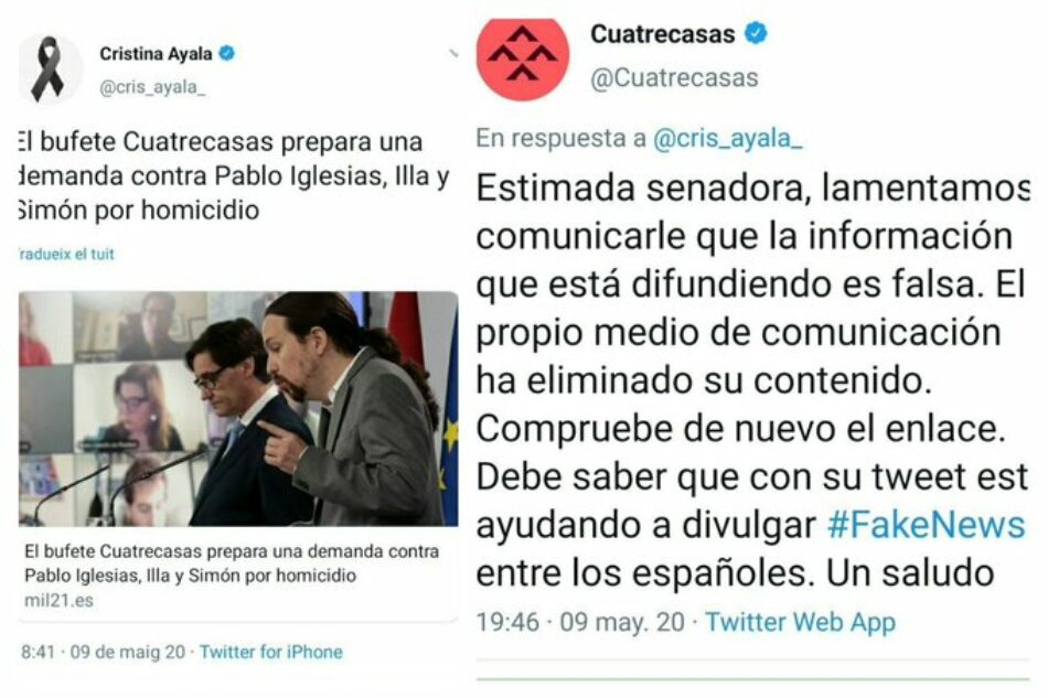 """Santiago exige a la derecha que """"se centre en el trabajo y deje los shows"""" y recuerda que la """"zona cero"""" del Covid-19 fueron """"las residencias de Madrid que gobierna el PP hace más de 20 años"""""""