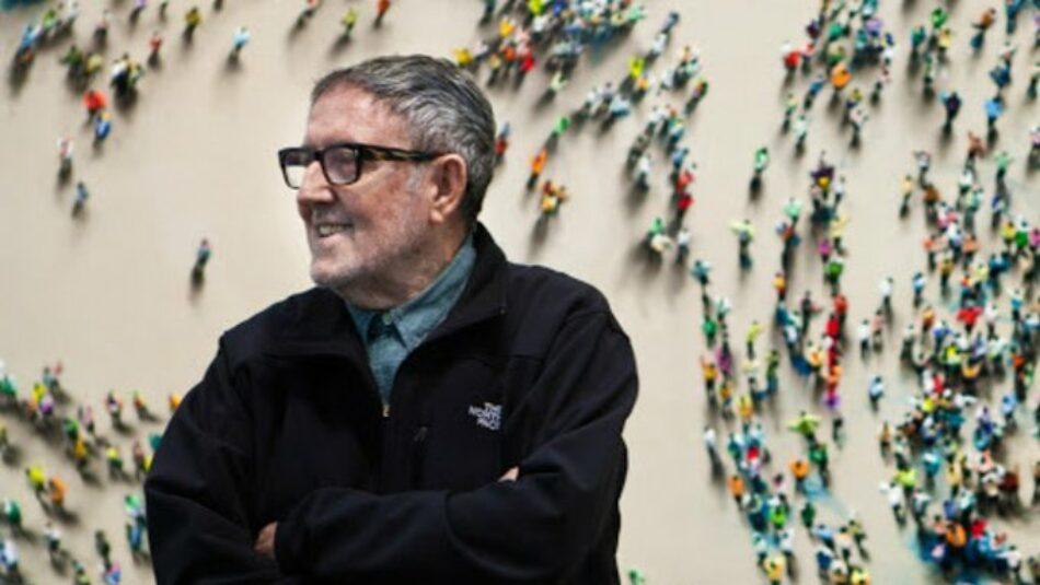 """Garzón traslada la """"profunda tristeza"""" de IU por la muerte de Juan Genovés """"un grande de la cultura, un retratista de España y de la lucha contra la dictadura"""""""