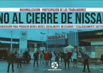 Miguel Urbán llama a nacionalizar y reconvertir la factoría de Nissan para asegurar los puestos de trabajo